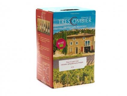 Trescombier IGP Gard rosé 33