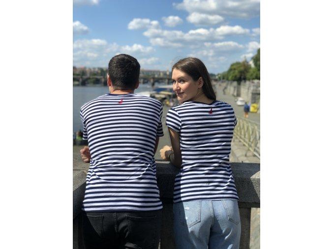 Dámské tričko #chodímsrhônou