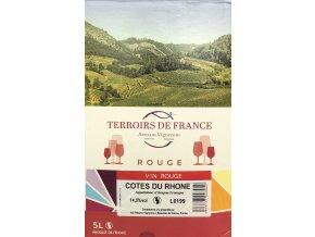 A l'Ombre des Fontaines Côtes du Rhône Rouge (BiB 5L)